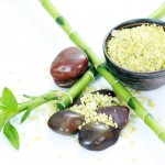 mineral salts bamboo massage