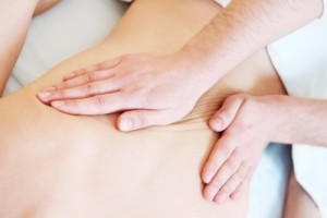 manual medical massage - releasing the fascia