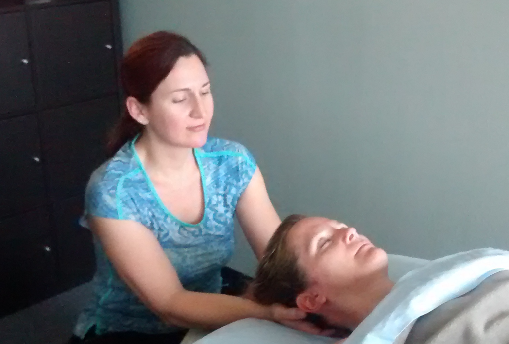 Heidi licensed massage occipital hold